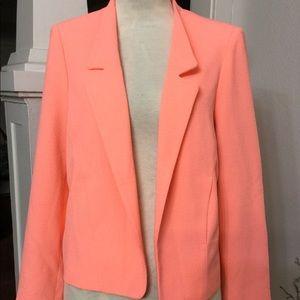 Top Shop Tangerine peach color blazer